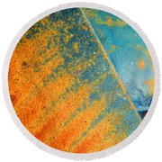 Afterthought Round Beach Towel