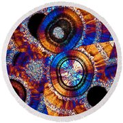 Agate 43 Round Beach Towel