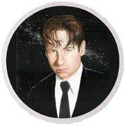 Agent Mulder Round Beach Towel