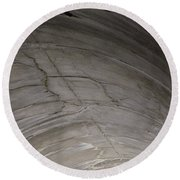 Aging Aggregate Round Beach Towel