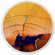Aging In Colour 4 Round Beach Towel