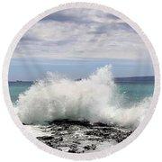 Ahihi Cove Round Beach Towel