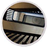 Aiken Rhett Stairs Round Beach Towel