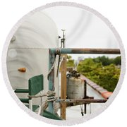 Air Stream Four Round Beach Towel