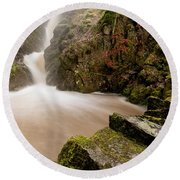 Aira Force High Water Level Round Beach Towel