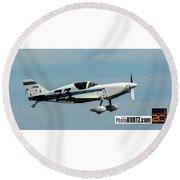 Airventure 73 Round Beach Towel