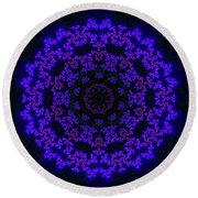Akbal 10 Round Beach Towel