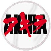Akira Japan Anime Round Beach Towel