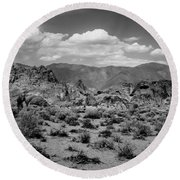 Alabama Hills Round Beach Towel