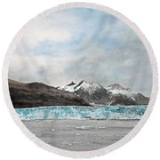 Alaska Ice Round Beach Towel