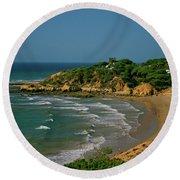 Albufeira, Portugal Round Beach Towel