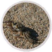 Ale Eke Ohiki Kuau Sand Crab Round Beach Towel