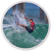 Alejo Muniz 4648 Round Beach Towel