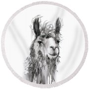 Alfonso Round Beach Towel