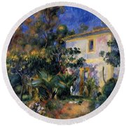 Algiers Landscape 1895 Round Beach Towel