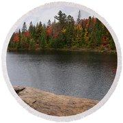 Algonquin Provincial Park Ontario Round Beach Towel