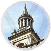 All Saints Church Oxford High Street Round Beach Towel