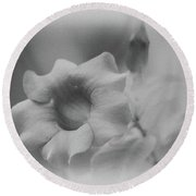 Allamanda Bloom Round Beach Towel