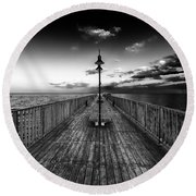 Almost Infinity Round Beach Towel