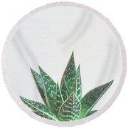Aloe Tiki Round Beach Towel