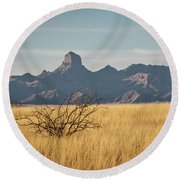 Altar Valley  Round Beach Towel