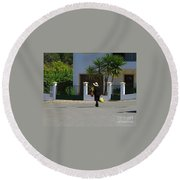 Alte Portugal Round Beach Towel