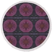 Altered States 1 - T J O D 27 Compilation Tile 9 Round Beach Towel
