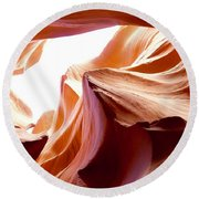 Amazing Rock Formations Round Beach Towel