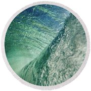 Amazing Wave Round Beach Towel