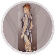 Amazon Scorpio Round Beach Towel