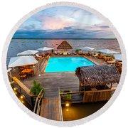 Amazon Swimming Pool Round Beach Towel