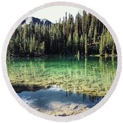 American Lake Round Beach Towel