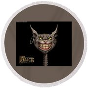 American Mcgee's Alice Round Beach Towel