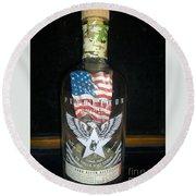 American Pendleton Commemorative Bottle Round Beach Towel