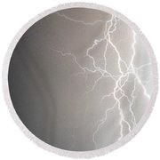 American Storm Round Beach Towel