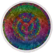 Americans Want Peace Round Beach Towel