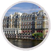 Amstel Amsterdam Hotel Round Beach Towel