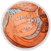 Amuweeke - Tile Round Beach Towel