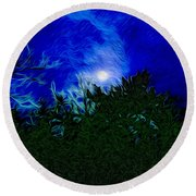 An Affair With Isolation_forest Round Beach Towel