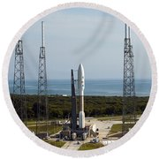 An Atlas V-551 Launch Vehicle At Cape Round Beach Towel
