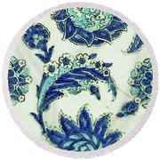 An Iznik Blue And White Pottery Tile, Turkey, 17th Century, By Adam Asar, No 18b Round Beach Towel