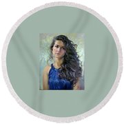 Ana Round Beach Towel