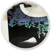 Anchorage Object Round Beach Towel