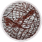 Ancient Dreams - Tile Round Beach Towel
