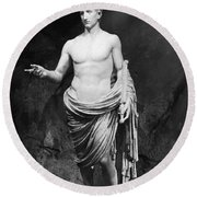 Ancient Roman People - Ancient Rome Round Beach Towel
