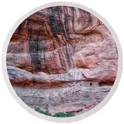 Ancient Ruins Mystery Valley Colorado Plateau Arizona 03 Round Beach Towel