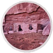 Ancient Ruins Mystery Valley Colorado Plateau Arizona 04 Round Beach Towel