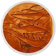 Ancients Live - Tile Round Beach Towel