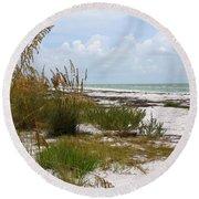 Anclote Key Preserve Round Beach Towel