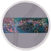 And Yet You Are Loved Round Beach Towel